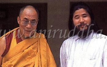 Секо Асахара когда-то получал у него передачу в практики, как и у еще 8 известных учителей, как  и у Далай Ламы
