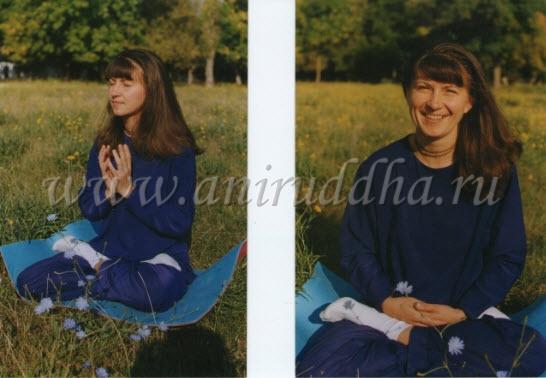 Сатья Према, бывшая ученица Свами Вишну Дэва, проходившая обучение в монастыре академии йоги